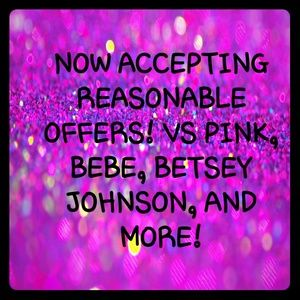 Other - VS PINK, BEBE, Betsey Johnson, and more!